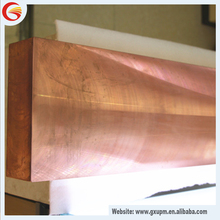 China suppliers 99.9995% pure copper copper ingot for sale