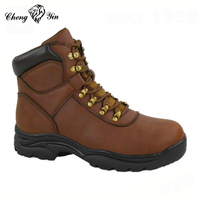 Wholesale quality brown mens work boots