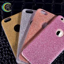 Good quality case for iphone 6 s for iPhone full housing shell case glitter