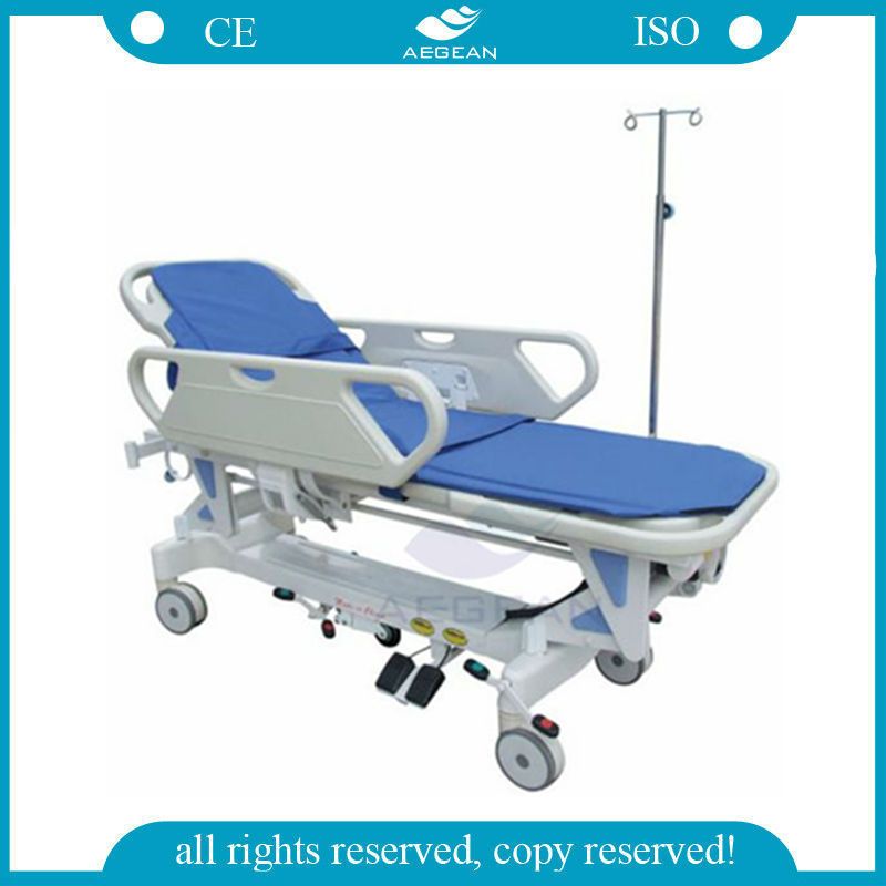 AG-HS009 With Linak Motor Hospital stretcher for ambulance