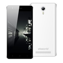 Alibaba Wholesale VKWORLD F1 4.5 inch Screen MTK6580 Quad Core RAM1G ROM8G Camera 2MP+5MP Double Flash 3G Smartphone