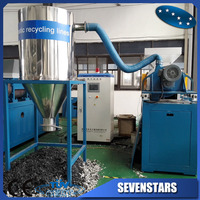 PE film recycling squeezing dryer machine