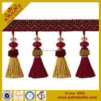 curtain accessories beaded tassel fringe