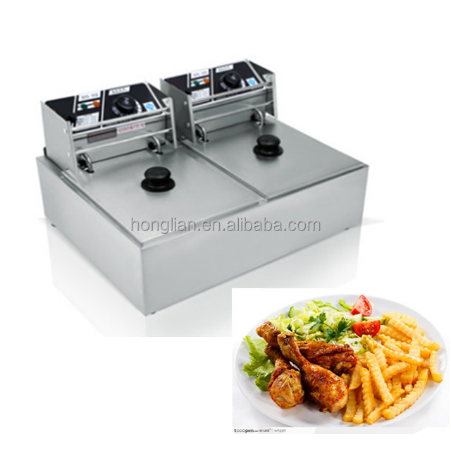 Commercial potato chips frying machine / Electric deep fryer