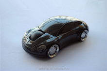 hot selling 2.4G Wireless Red Car Shape Mouse