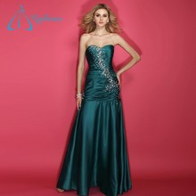 Sweetheart Lace Up Floor Length Plus Size Prom Dress Shops