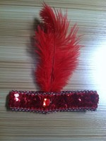 Party Props Flapper Feather Headband Wholesale