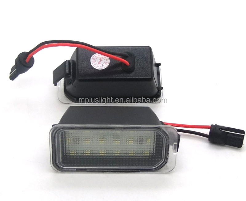 LED License Number Plate light SMD Canbus Error Free OEM For Ford Mondeo Fiesta Fusion