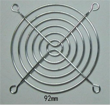 Hot selling 92mm metal fan grid finger guard