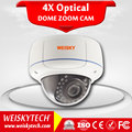 WEISKY IP66 Rating POE P2P 2.8-12mm Varifocal Dome IP Camera Full Color Onvif IP Security Camera