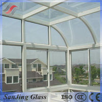 Laminated glass deck panels