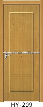 coating with PVC film American Panel Interior Door
