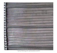 Stainless steel wire mesh chain for vegetable washing machine