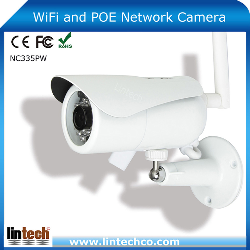 Made in China waterproof wireless P2P outdoor wifi ip camera wireless from tenvis
