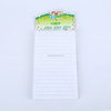 sticky funny fridge magnet note pad