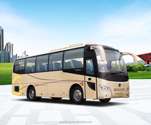 2017 New Color Design 9m Luxury Tourist Passenger Bus SLK6902