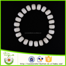 China jewelry factory 2015 newest simple style ivory white 9mm nepal beads bracelets wholesale
