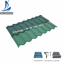 Light weight high strength water-resistant royal stone chip coated steel roofs kenya