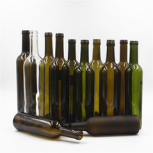 finish bordeaux bottle/empty glass wine bottle