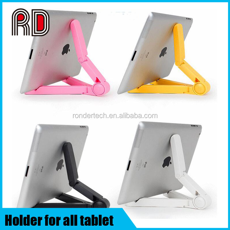 Universal fortable fold-up stand holder for ipad tablet pc smart phone