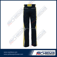 custom made plus size wholesale baseball pants for adults