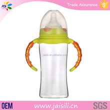 Funny High Boron Silicon Glass Baby Feeding Bottle