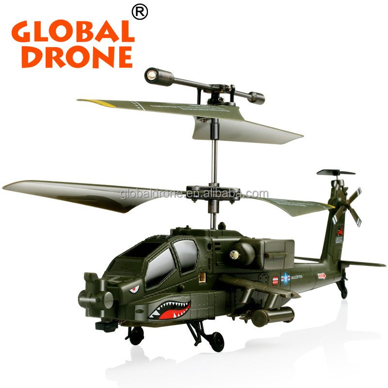 New Gunships Simulation Indoor Radio Remote Control Toys for Gift Heli copters SYMA S109G AH-64 Apache <strong>Mini</strong> 3CH RC Heli copters