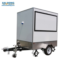 Best Durable food cart / waffle mobile food truck for sale, korean fish crips food kiosk design