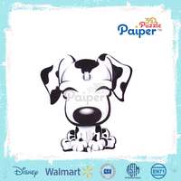 Educational diy dog model puzzle 2016 toys