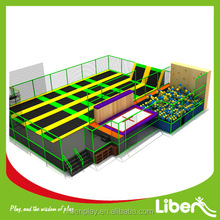 Jumping Outdoor Birthday Party Free Large Trampoline Park Design and Planning