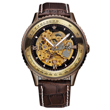 Cusomizde Logo Leather Brands Geneva Wrist Watches For Men