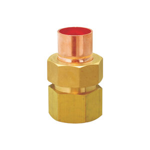High quality Brass Female Threaded Pipe Fitting Copper Tube Connector