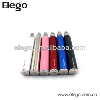 3.3V-4.8V Variable Voltage E-Cigarette Elego ego twist 1300 mah spinner battery
