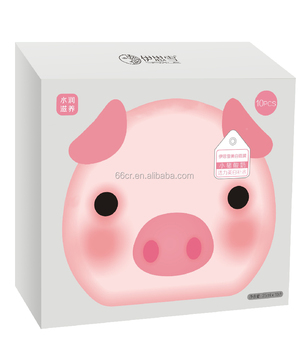 little pig yogurt whitening moristurizing Beauty facial Mask