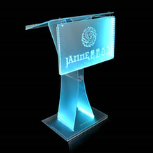 Professional manufacturer organic glass acrylic school lecterns