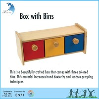 Hot sale wholesale EN 71 montessori kindergarten educational tools