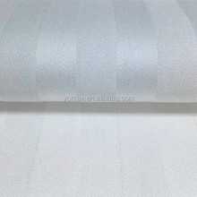 100% cotton satin bed sheet fabric for wholesale