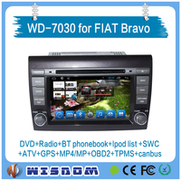 2016 shock price car radio dvd gps fiat bravo 2 din 7 inch car dvd player auto audio bluetooth mp3 mp4 mp5 player wifi 3g