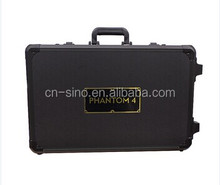 Black Custom Aluminum Equipment Case Hard Tool Box Metal Storage Case