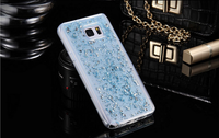 High quality soft silicon gel bumper case for iphone5/6/6 plus cover glitter case for Samsung s6/s7 edge