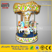 Most attractive !carousel horses plastic/carousel ride with carousel music box