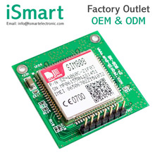 SIM808 adapter board GPS GSM GPRS Bluetooth module instead of SIM908