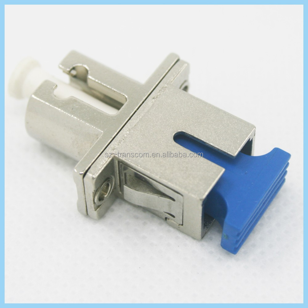 Low Insertion Loss Hybrid LC SC Adaptor/sc sma st fc lc hybrid fiber optic fc fiber optic sc adapter lc adaptor