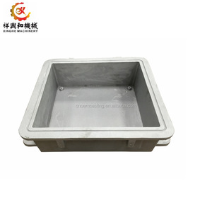 OEM foundry services aluminum sand casting flask with customized treatment