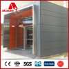 ISO certificate colour coated sheet metal cladding aluminium composite panel