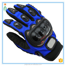 2017 custom hot bike cycling non-slip motorcycle gloves with waterproof