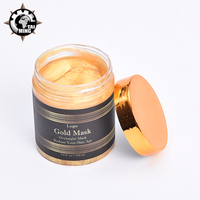 Private label 24k gold collagen crystal peel off facial mask deep cleaning face mask