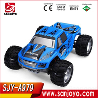 Radio Control Car Toy!2.4Ghz 1:18 4WD big wheel off-road vehicle electric high speed rc buggy car SJY-A979