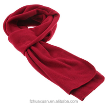 knit scarf winter neckerchief with embroider logo