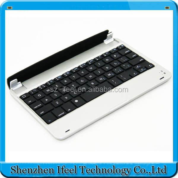 High quality most popular bluetooth keyboard for 7 inch tablet pc,bluetooth keyboard for ipad mini